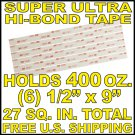 $3.95 3M 4950 VHB Tape 2 Two Double Sided Backed Coated 400 oz. Hold - U.S. SHIPS FREE!