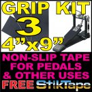 $4.49 Grit Tape Non Skid Safety Anti Slip Drum Kick Hi-Hat Pedal Grip Stair Step Floor Traction