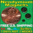 "$2.99 Rare Earth Neodymium Magnets N35 Disc 6mm x 2mm 1/4"" X 1/16"" Buy 10 Get 1 FREE, US SHIPS FREE!"