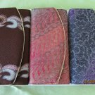 BATIK JAVA BALI Purse Wallet for Women with Gold Lined Trim
