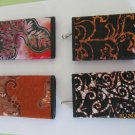 BATIK JAVA BALI Purse Wallet Cluth with Key Chain