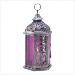 Enchanted Amethyst Candle Lamp