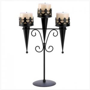 Medieval Triple Candle Stand : On Sale! $19.95