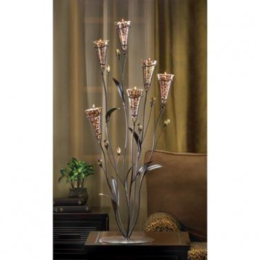 Leopard Lily Blossom Candle Tree