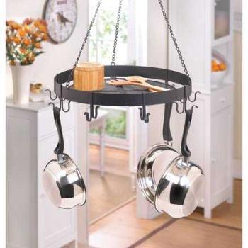 8 Hook Hanging Pot Holder: