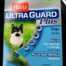HARTZ*Ultra Guard Plus DROPS Fleas Ticks Mosquitoes 5lbs 3 BOXES = 9 TUBES