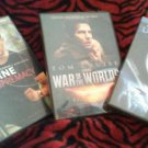 DVD- The Bourne Supremacy, War of the Worlds, Underworld-Evolution