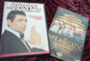 Johnny English/The Life Aquatic - DVDs