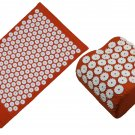 Dyhana Acumat - Bundle of Acupuncture Mat and Pillow - Pain and Stress Relief - Acupressure Set