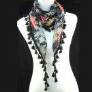 elegant shawl style scarves ,NL-1518I