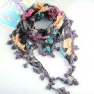 charm gorgeous purple scarf ,NL-1518D