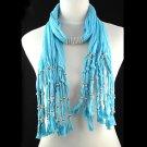 lady's winter tassel scarf ,NL-1440D