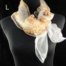 100%polyester elegant spring polyester scarf ,NL-1522