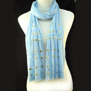 charm long style rivet scarf ,NL-1493F