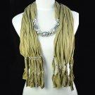 camel tassel scarfs ,NL-1306A