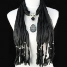 tassel scarf necklaces ,NL-1222E