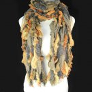 winter scarf brown color for women ,NL-1067C