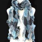 Knit fabric scarfs ,NL-1067B