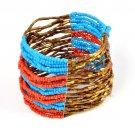 multi rows beads bangle ,BR-1331
