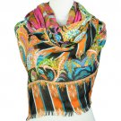 4 colors Floral print classical lady scarf shawl wrap fashion accessory NL-1679