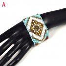 4 designs Bohemian seed beads friendship bracelet fashion BR-1333, free shipping