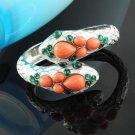 Fashion enamel alloy double snake bangle bracelet, free shipping, BR-1238