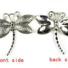 5pc, 12pc Dragonfly charm pendant DIY jewelry findings scarf accessories PT-525