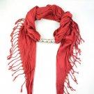 NEW 1 pcs Christmas red jewelry scarves fashion triangular lady shawl NL-1316B