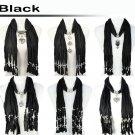 Black scarf group mix design fashion winter jewelry scarf woman warm shawl lot