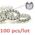 100 pcs CCB Round circle pendant scarf accessories DIY jewelry findings PT-640