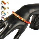 chirstmas gift leather bracelets lucky bracelet 4 colors fashion jewelry BR-1395