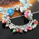 Spring beaded bracelts chain with charms fashion jewelry accessories BR-846C