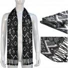 175 cm long winter man scarf warm rectangle tassel scarves Christmas gift NL1839