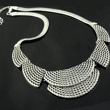 1 pcs silver color Casting chain Necklaces alloy charms fashion jewelry NL-403