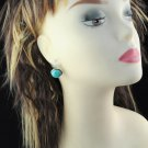 1 pair turquoise earrings press clasp design fashion earring ER-511