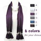 Soft jewelry scarf 6 colors fashion winter warm lady shawl 180cm long NL-1842