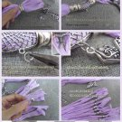 100 pcs metal scarf bails DIY jewelry tube scarf accessories wholesale PT-503