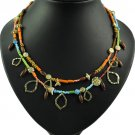 New Fashion Vintage Women Party Necklace rhinestones colorful 9 styles charming