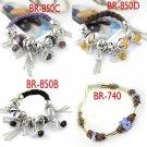 Fashion beads bracelets charms friendship weave bracelet 4 styles good Gift