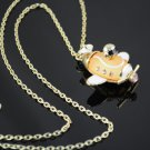 aircraft pendant necklaces chain fashion necklace high quality rhinestones NL987