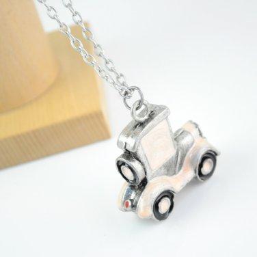 cute car shape pendant chain long necklace alloy fashion necklaces NL-952