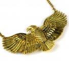 New Arrive Hot Selling New Fashion Eagle Unique Bib Necklace Jewelry nl2007