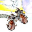 1 pair coffee resin earrings fashion woman jewelry earrings hook ER-444A