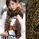 new arrival,leopard printing women scarf for winter,NL-2105