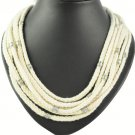 personality hemp cotton rope necklaces multi-layer BIB style necklace NL-1466
