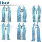 mix design winter jewelry scarf winter shawl lot retail