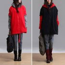 2colors Hoodie women leisure fashion winter tops clothing unique design AOLO-486