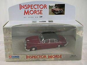 Corgi Classics Inspector Morse ITV Collectors Model Brand New and Boxed