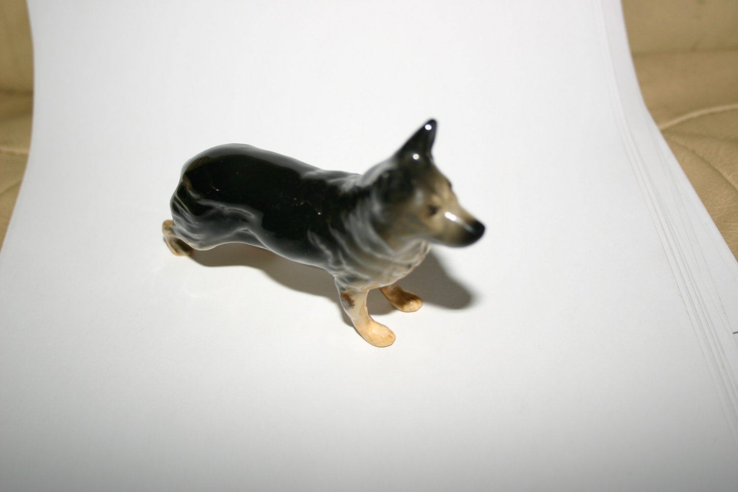 Antique Handmade Beswick German Shepherd Alsatian
