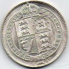 Beautiful 1889 Shilling Crafted Into A Badge